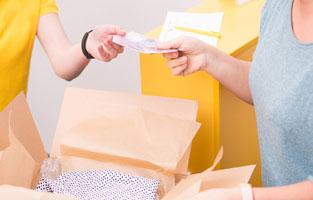 Оплата при получении (наложенный платеж)