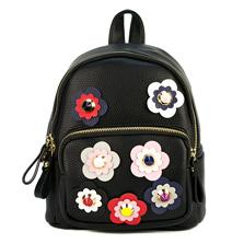 женский рюкзак с цветочками