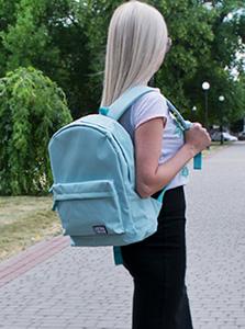 Женский рюкзак мятного цвета
